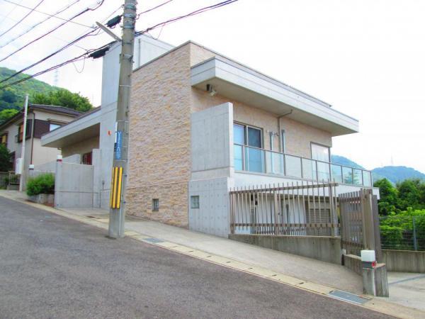 神戸市灘区 一戸建て外観写真